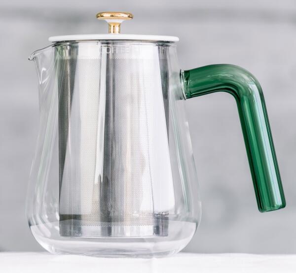 Carl Henkel Kaffeekanne X-TRACT-BREW ARCA, green handle