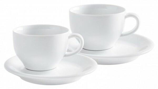 Kahla Café Sommelier Cappuccino International Set 4tlg. in weiß