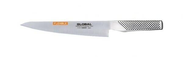 Global G-20 Yoshikin Flexibles Filetiermesser 21cm