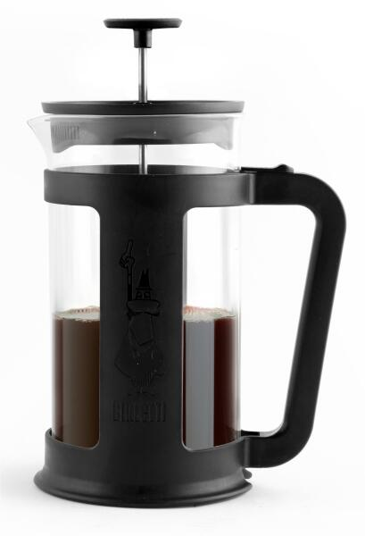 Bialetti Kaffeebereiter French Press Smart Black
