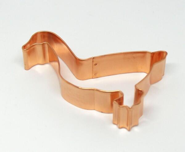 Ausstechform Gans aus der Kupfermanufaktur Weyersberg