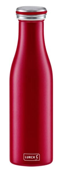 Lurch Isolierflasche in bordeaux, doppelwandig
