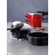 Silit Schnellbratpfanne econtrol in schwarz, ohne Einsatz