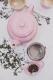 Le Creuset Klassische Kanne mit Sieb 1,3 l in chiffon pink