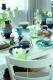 Kahla Pronto Frühstücksteller 20,5 cm in grün-blau