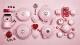 Le Creuset Blumen-Förmchen mit Deckel in chiffon pink