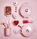 Le Creuset Topf für Kochkellen in chiffon pink