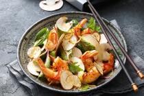 Fruchtiger Garnelen-Mango Salat