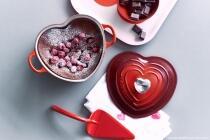 Rhabarber-Erdbeer-Joghurtkuchen mit Mandeln