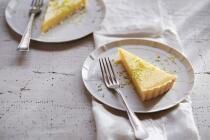 Zitronenkuchen mit Olivenöl