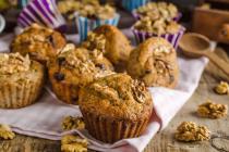 Haselnuss-Kaffee-Muffins