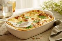Tomaten-Spinat-Lasagne