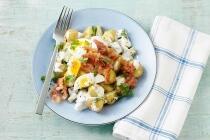 Bratkartoffeln mit Pfifferlingen und Speck