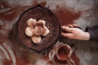 Brownie in der Pfanne