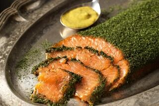 Graved Lachs mit Gin & Dill