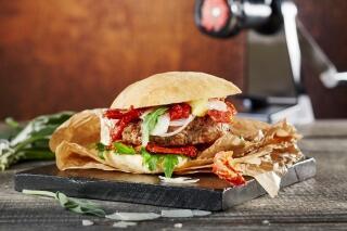Italian Style Kalbfleischburger