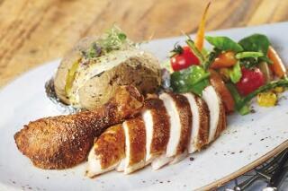 Malzbier-Hähnchen mit Grillgemüse