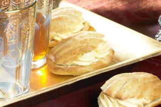 Süße Chai-Muscheln