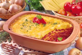 Vegetarische Tomaten Lasagne