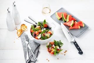 Wassermelonen-Salat mit Burrata