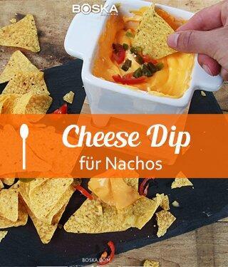 Cheese Dip für Nachos