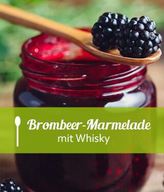 Brombeer-Whisky-Marmelade