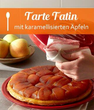 Tarte Tatin mit karamellisierten Äpfeln