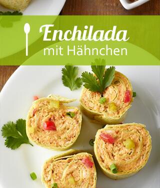 Hähnchen Enchilada