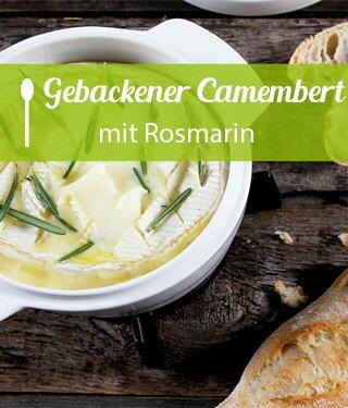 Gebackener Camembert mit Rosmarin