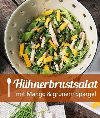 Hühnerbrust-Mango-Salat