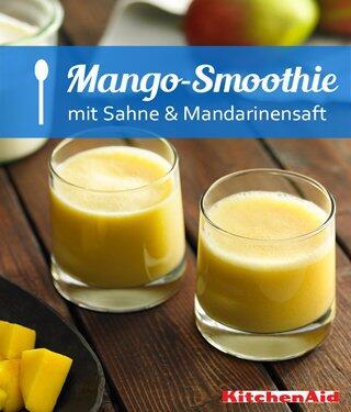 Mango-Sahne-Smoothie