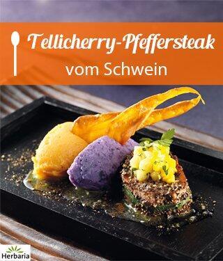 Tellicherry-Pfeffersteak vom Schwein