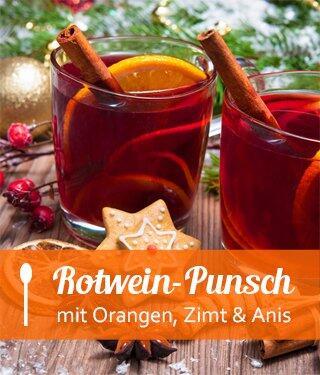Rotwein-Punsch