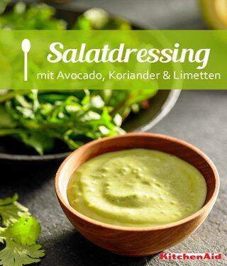 Avocado-Koriander-Limetten-Dressing