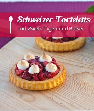 Schweizer Zwetschgen Torteletts