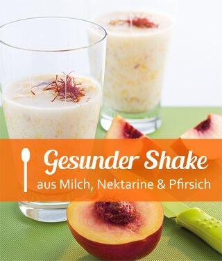 Pfirsich-Nektarinen-Shake