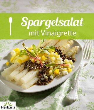 Spargelsalat mit Vinaigrette