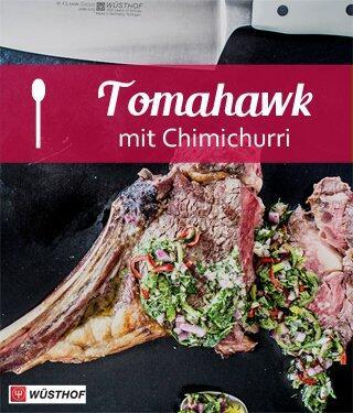Tomahawk mit Chimichurri