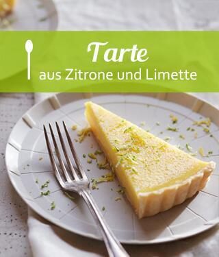 Zitronen-Limetten-Tarte