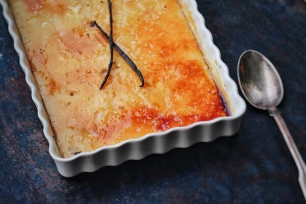 Einfache Crème Brûlée