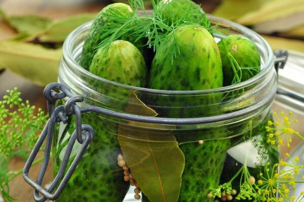 Gewürzgurken süß-sauer