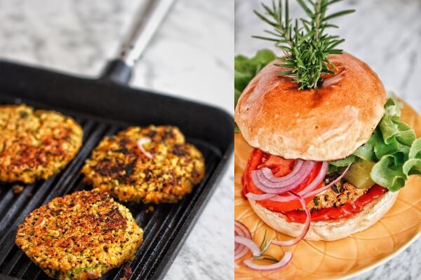 Indian Veggie Burger