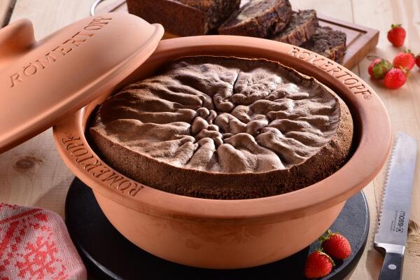 Nougat-Kuchen mit Haselnüssen
