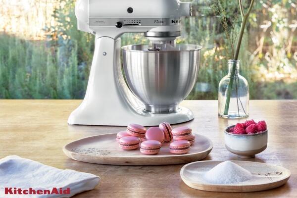 Pinke Macarons