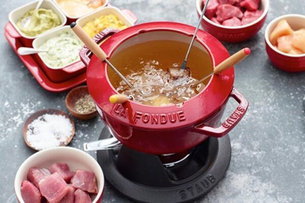 Fleisch-Fondue
