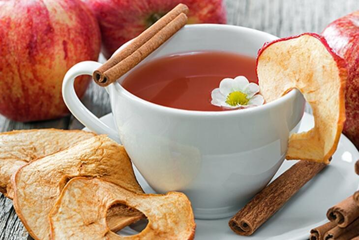 Apfel-Zimt-Tee