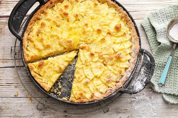 Kokos-Ananas Pie
