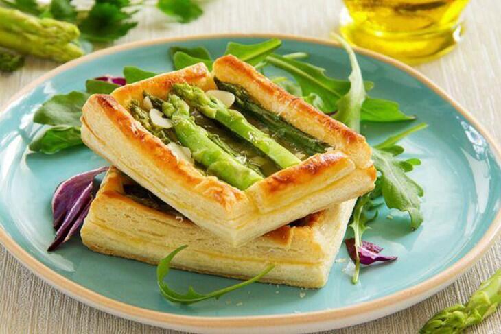 Spargel-Kartoffel-Tarte