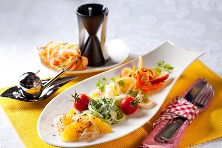 Rohkostsalat von Spaghettigemüse