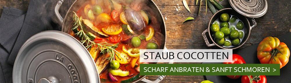 Staub Cocotten & Töpfe